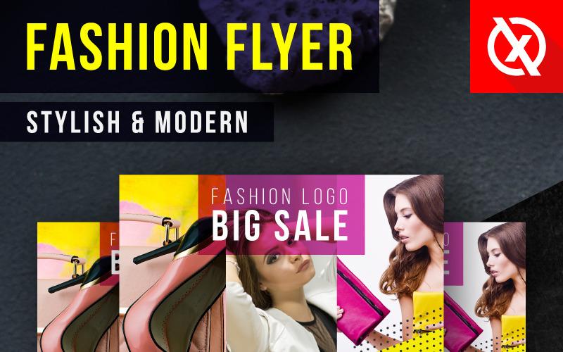 Stylish & Modern Fashion Flyer - Corporate Identity Template