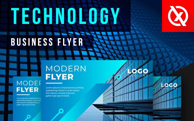 Stylish Digital Technology Flyer - Corporate Identity Template