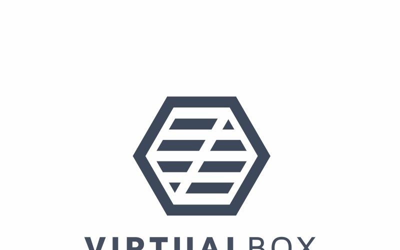 Logo šablony virtuální pole