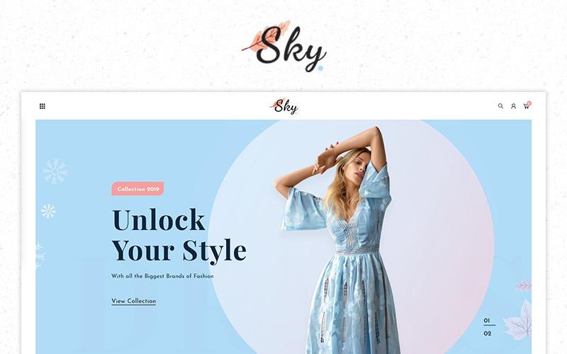 Thème PrestaShop Premium pour Sky Fashion Store