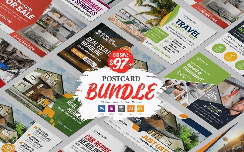 Cerpo - Postcard Design Bundle - Corporate Identity Template