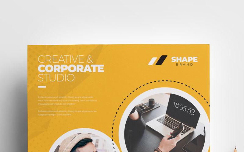 Shape  -  Flyer - Corporate Identity Template