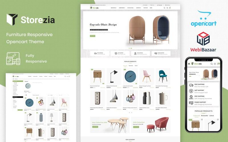 Storezia – The Furniture PrestaShop Theme