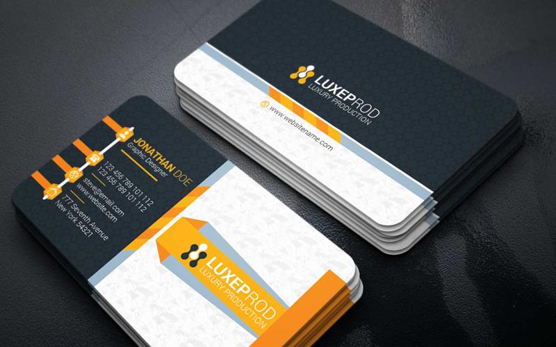 Jonathan Business Card - Corporate Identity Template