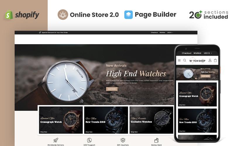 Watch Store Shopify Theme
