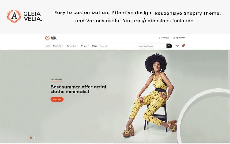 A Gelia Velia - The Fashion Shopify Theme