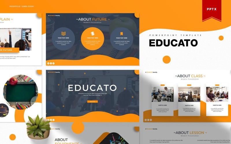 Educato | Plantilla de PowerPoint