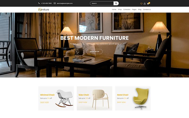 Möbel - Kreative Mehrzweck-PSD-Vorlage