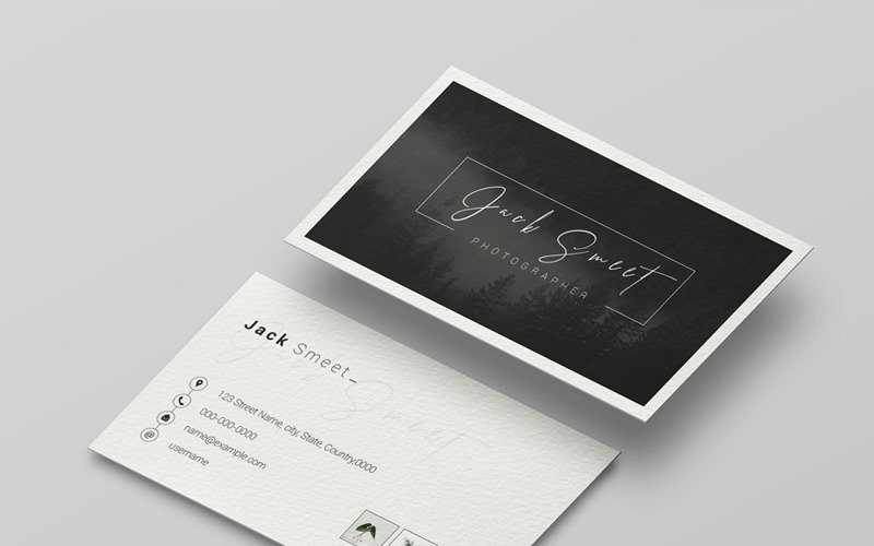 Jack Business Card - Corporate Identity Template