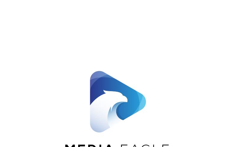 Media Eagle Logo Template