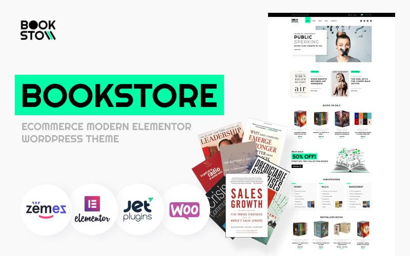 BookSto - Bookstore ECommerce Modern Elementor WooCommerce Theme