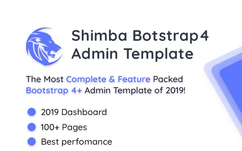 Shimba Admin Template