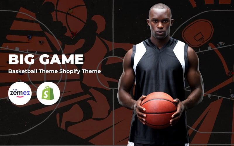 Big Game - Basketball Shopify Theme