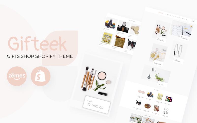 Cadeau - Thème Shopify de la boutique de cadeaux