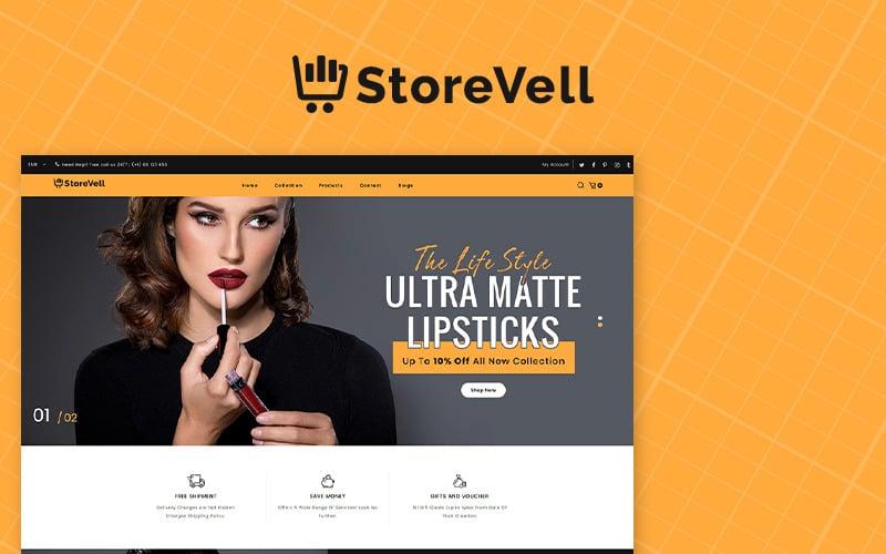 Storevell - Cosmetics Shopify Theme