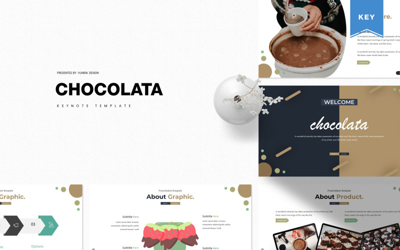 Шоколад - основний шаблон
