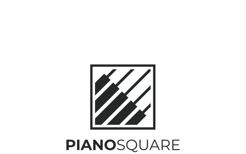 Pianomusik logotyp mall