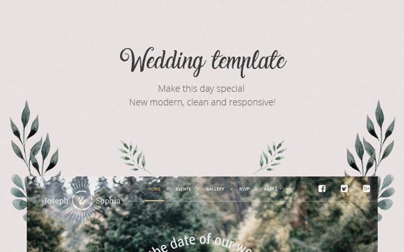 QueenFlowers - Wedding WordPress Theme