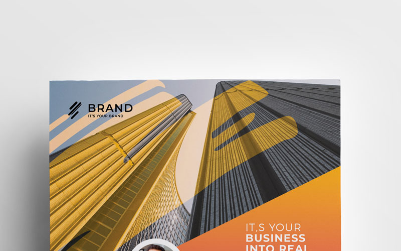 品牌-传单-企业形象模板
