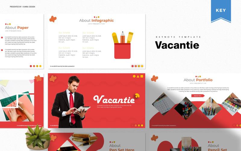 Vacantie-主题演讲模板