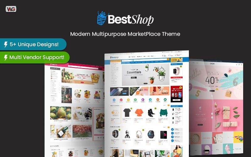 BestShop - MultiPendor MarketPlace WooCommerce WordPress Theme