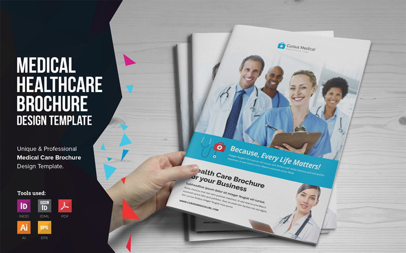 MediOne - Medical HealthCare Brochure - Corporate Identity Template