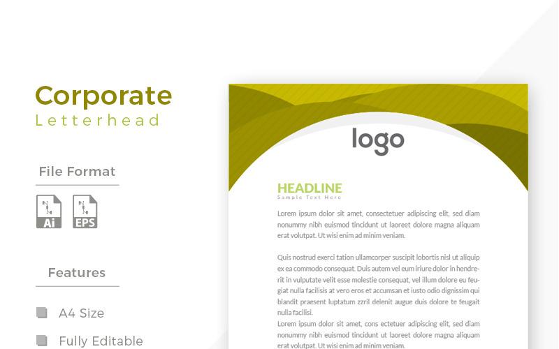 Design Express Güzel Antetli Kağıt - Kurumsal Kimlik Şablonu