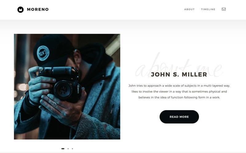 Moreno | Multipurpose HMTL Website Template