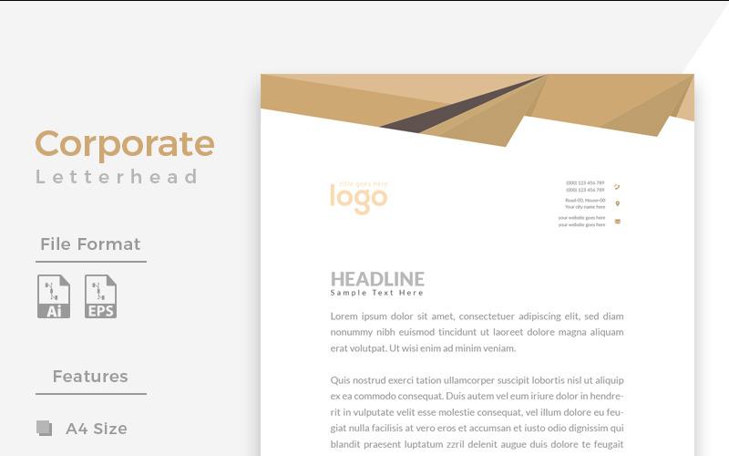 Office Letterhead - Corporate Identity Template