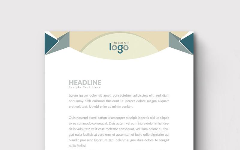 Фирменный бланк Design Pro - шаблон фирменного стиля