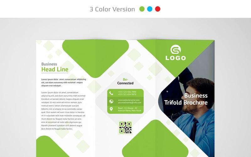 Брошюра Maisi Trifold - шаблон фирменного стиля