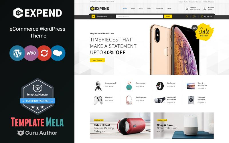 Expend - Electronics WooCommerce Theme