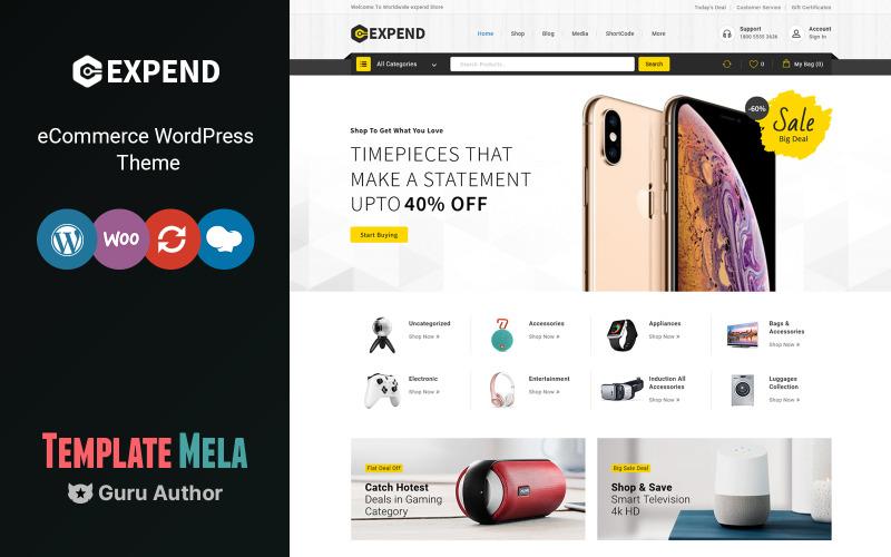 Expend - Elektronik WooCommerce-tema