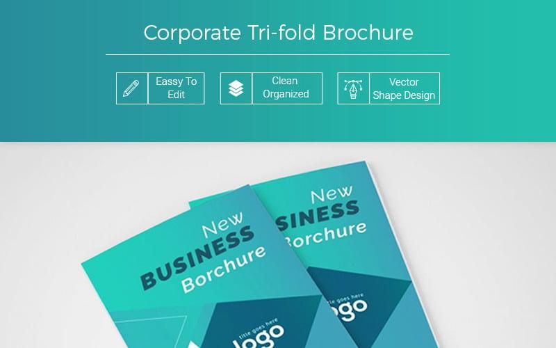 Fazenda Abstract Tri fold Brochure - Corporate Identity Template
