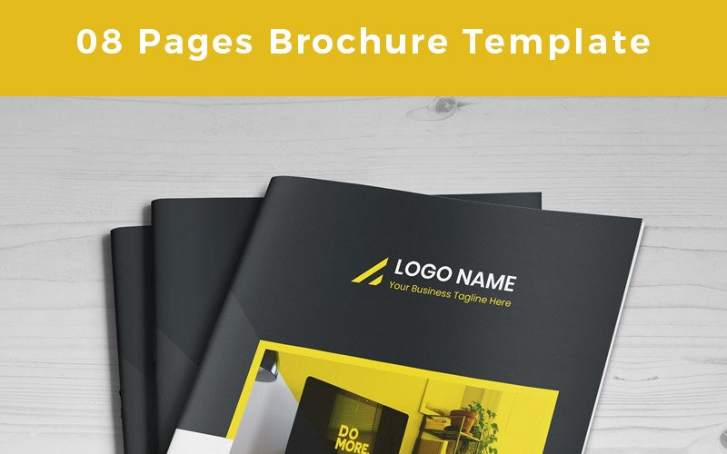 Brango-Pages -Brochure - Corporate Identity Template