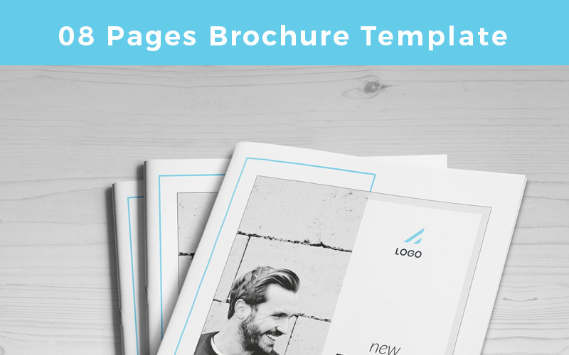 Guasi-pages-Brochure - Corporate Identity Template
