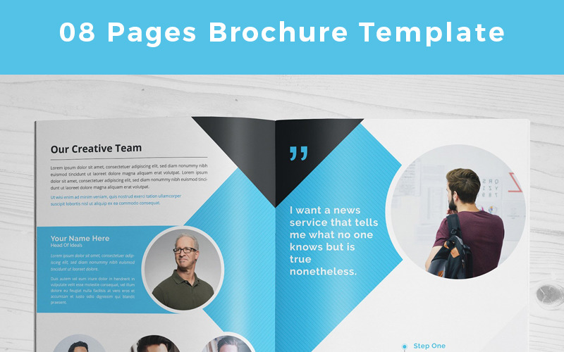 Mipido-Pages-Brochure - Corporate Identity Template