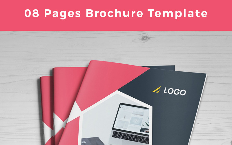 Palomas-Pages-Brochure - Corporate Identity Template