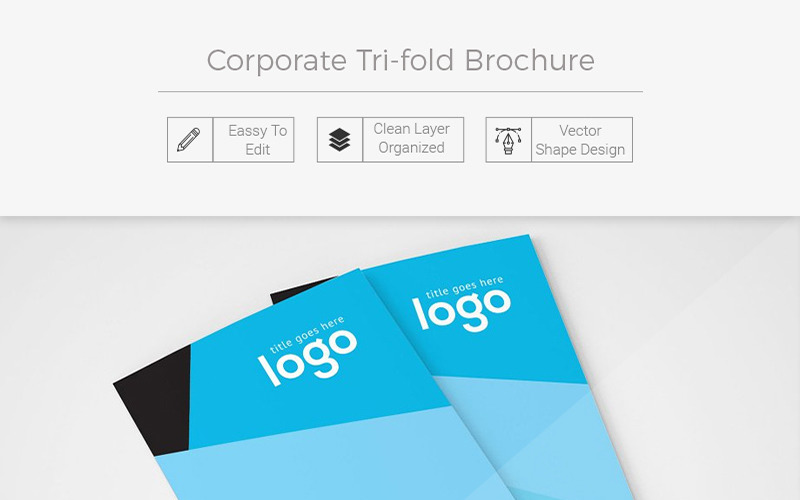 Compton Tri-fold Brochure - Corporate Identity Template