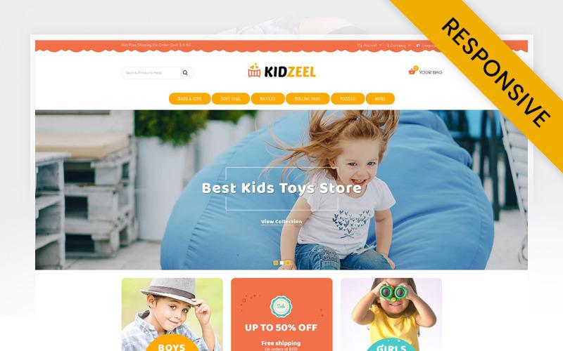 KidZeel - Šablona OpenCart pro hračky