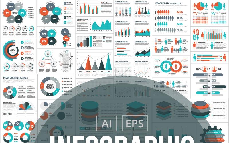Koncepční | Část 02 Infografika prvky