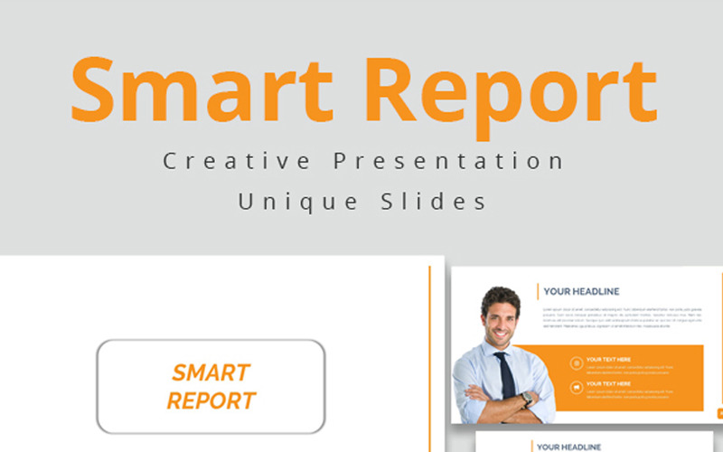 Smart Report - šablona Keynote