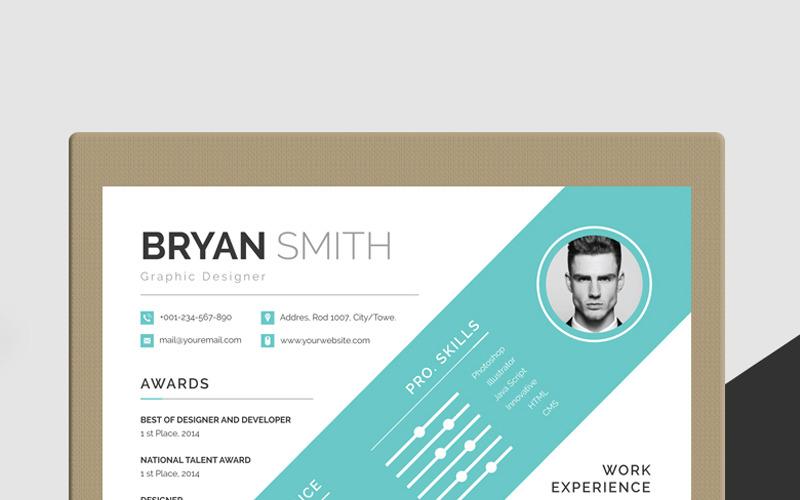 Šablona životopisu Bryana Smitha