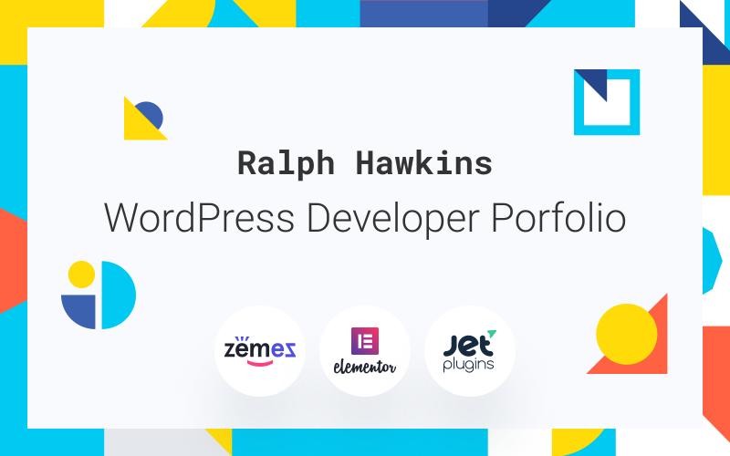 Devling - Сайт-портфолио для темы WordPress разработчика