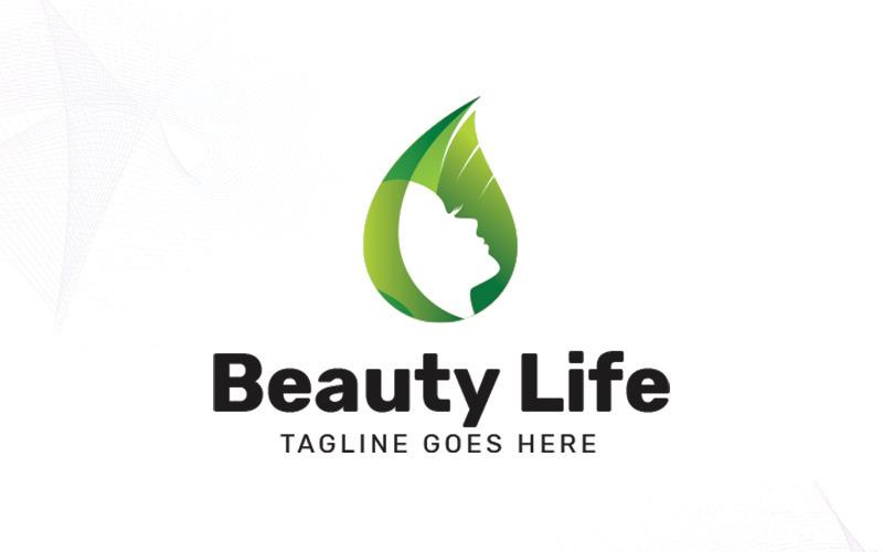Krása života Logo šablona