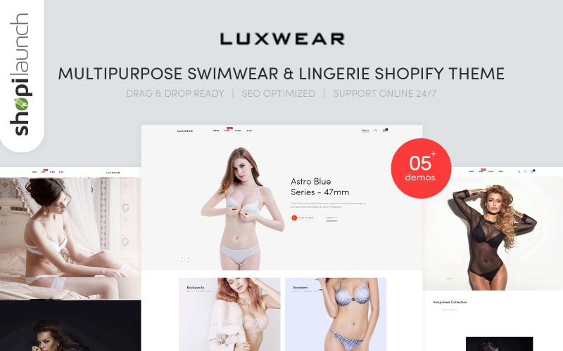 Luxwear - Multipurpose Swimwear & Lingerie Shopify Theme