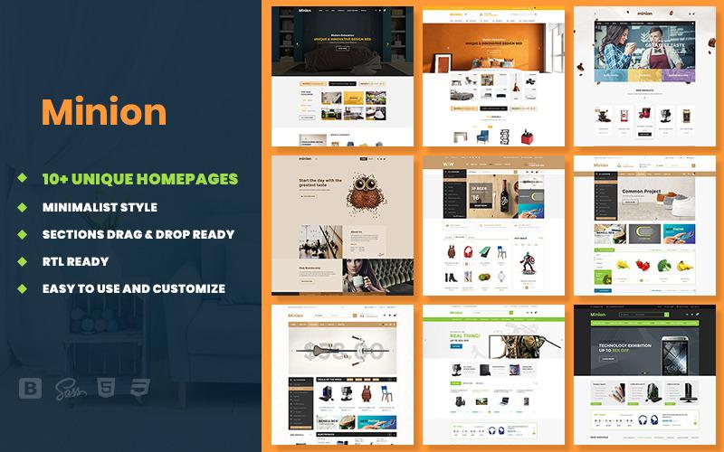 Minion | Multi-store Responsive Shopify Theme