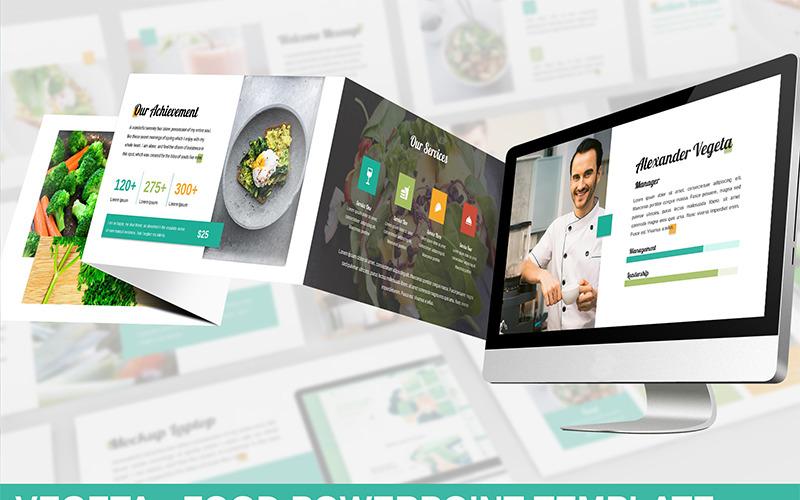 Vegeta - Food PowerPoint šablony