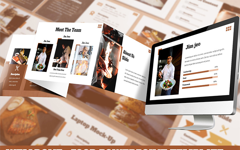 Welldone - Food PowerPoint šablony