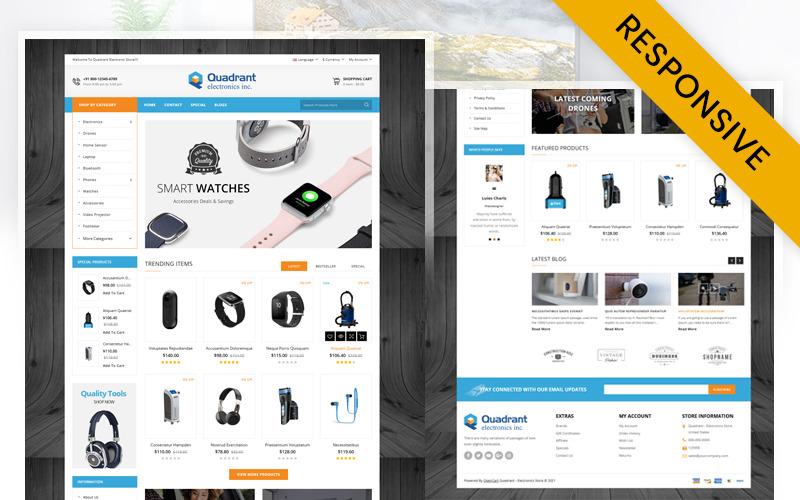 Quadrant - Šablona OpenCart obchodu s elektronikou